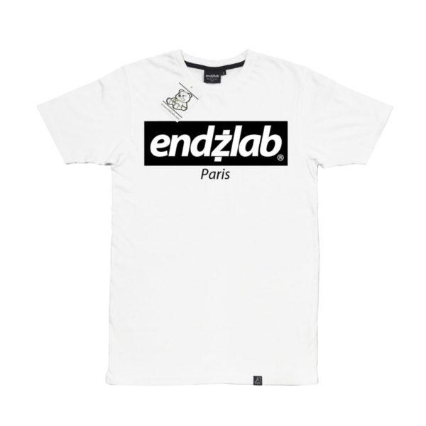 Endzlab white - Endzlab - T-shirts