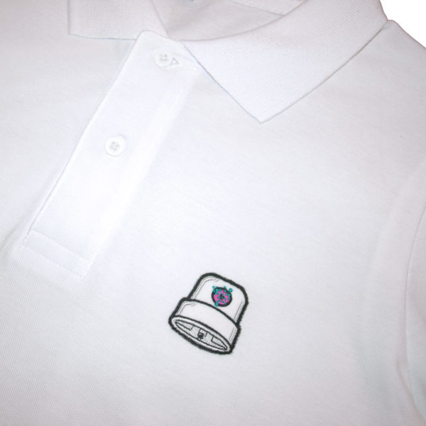 Polo Fatcap Endzlab White Detail