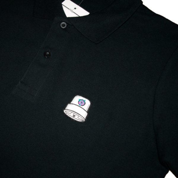 Polo Fatcap Endzlab Black Detail