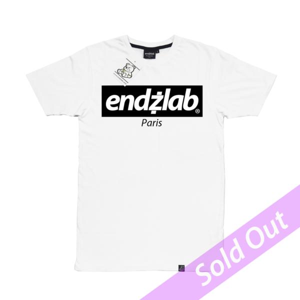 Endzlab logo white sold out