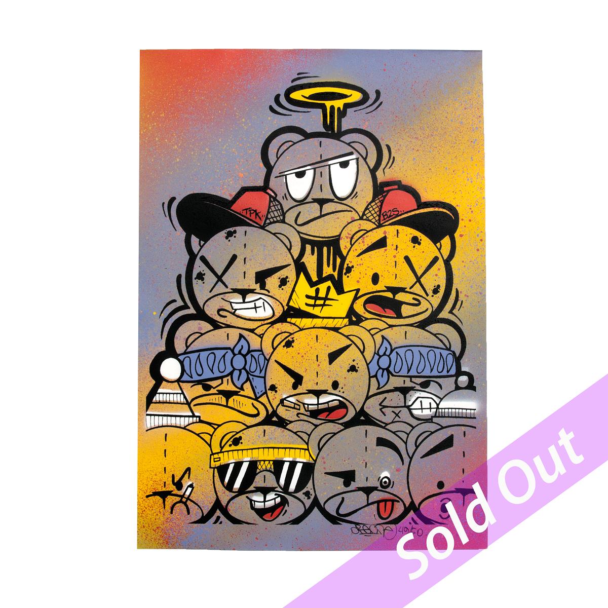 Endzlab - badassbear print 49 sur 50 sold out