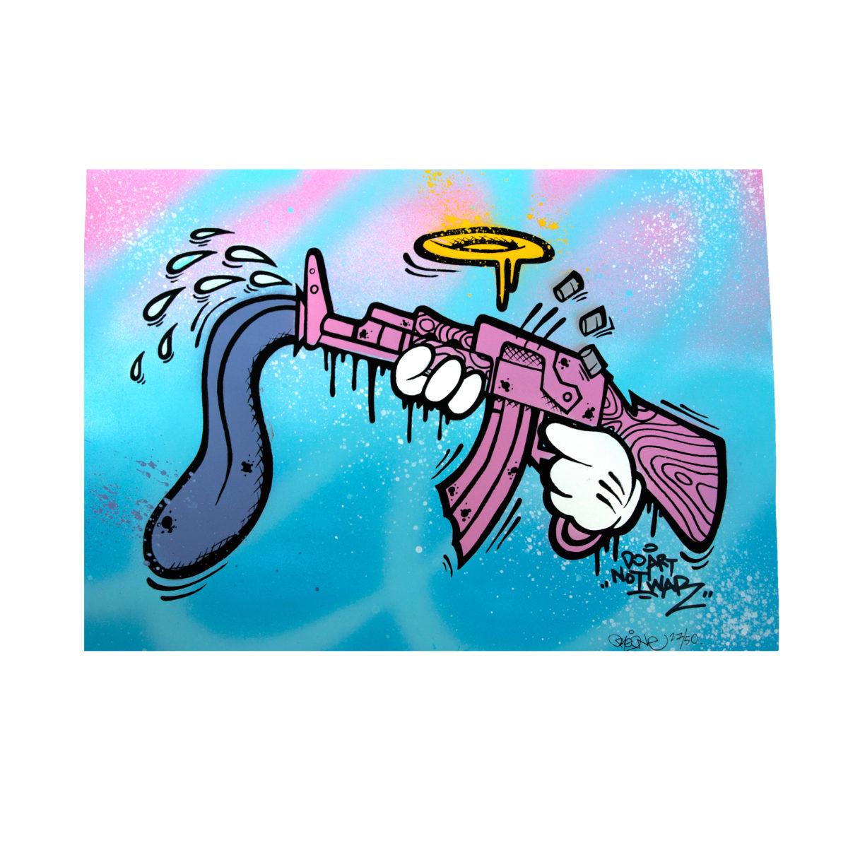 Do art not war 27/50 by Endzlab