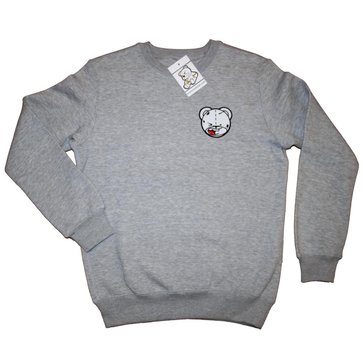 endzlab - bad ass sweatshirt grey