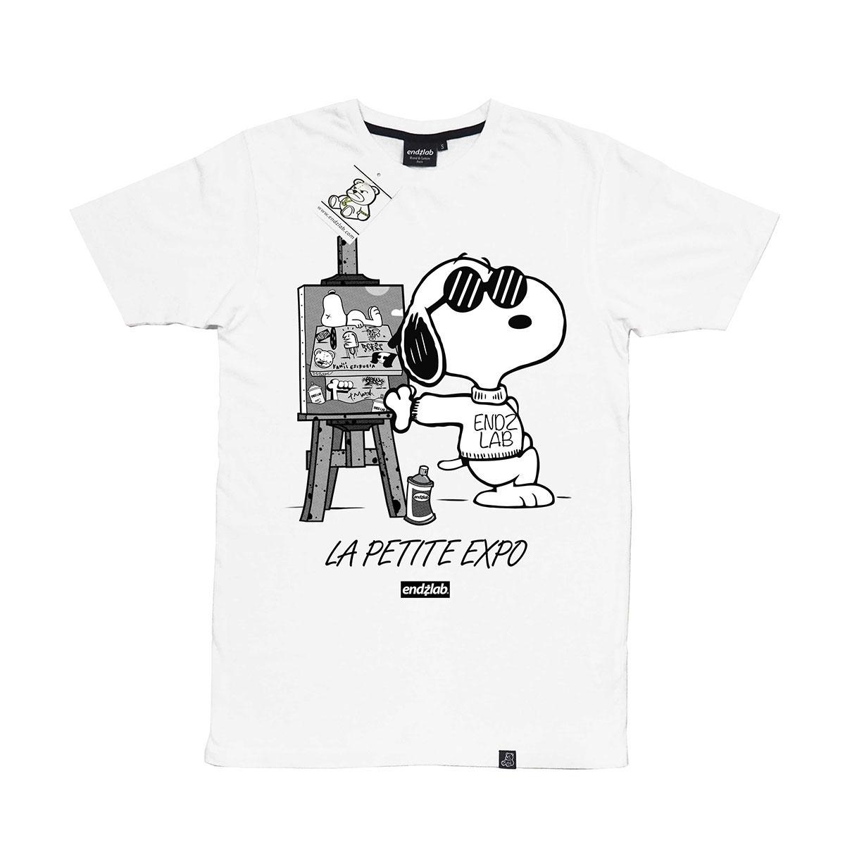 "T-shirt ""La petite expo"" - Endzlab"