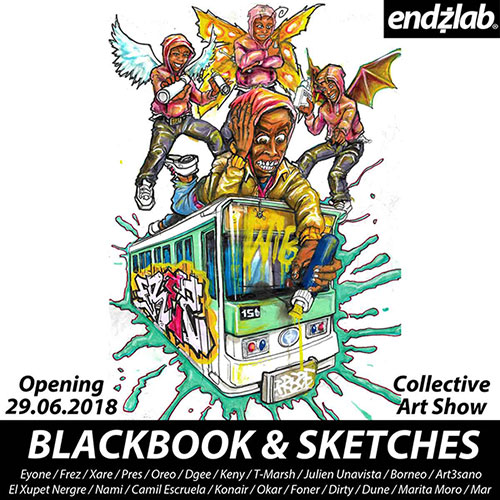 Blackbook & Sketches - Endzlab