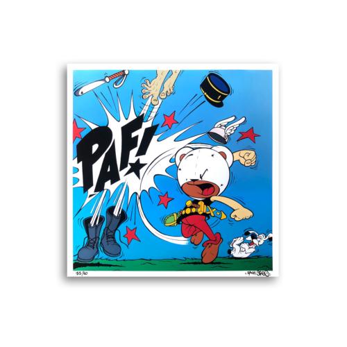 Zach Oreo – Bad Ass Punch Print